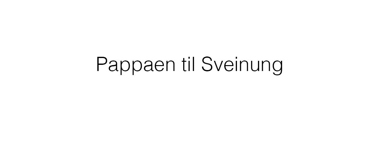 9 pappaen til Sveinung